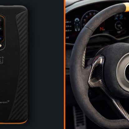 McLaren különkiadással intették le a OnePlus 7T Prót