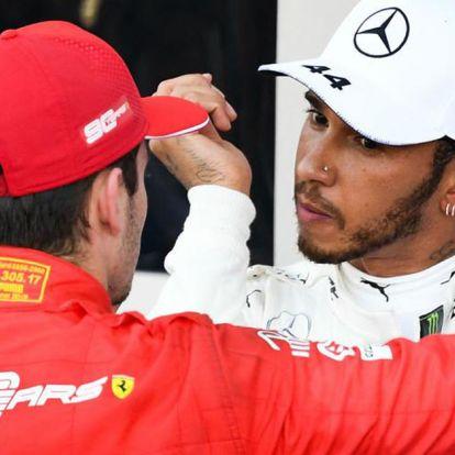 Hamilton szerint nem vezetnek jóra Leclerc sikerei a Ferrarinál
