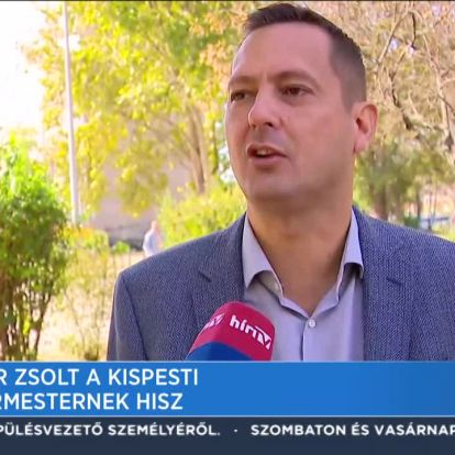 Molnár Zsolt a kispesti polgármesternek hisz