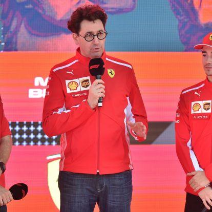 F1: Még lehet Vettel-Leclerc háború a Ferrarinál