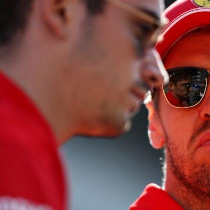 Sebastian Vettel és a Ferrari odapörkölt Japánban a Merciknek