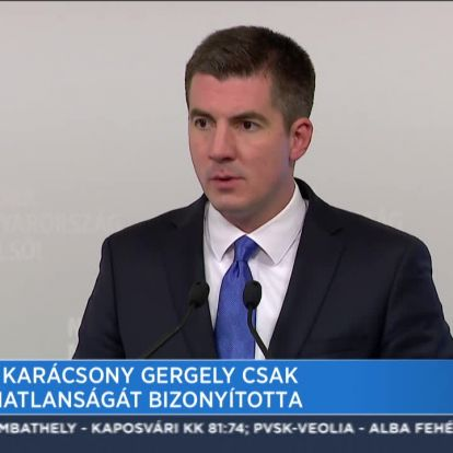 Fidesz: Karácsony csak alkalmatlanságát bizonyította
