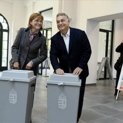 Zajlik az önkormányzati választás, a legtöbb politikus már szavazott
