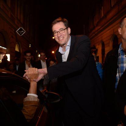 Karácsony Gergely Budapest új főpolgármestere, íme a győzelmi beszéde