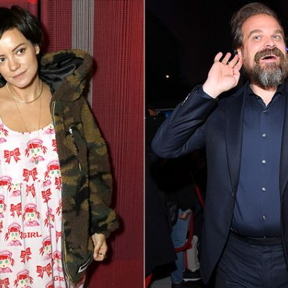 Lily Allen y David Harbour, de 'Stranger Things', pareja sorpresa