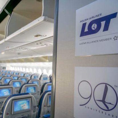 Négy helyett hét járatot indít jövő tavasztól a LOT Polish Airlines Budapestről New Yorkba