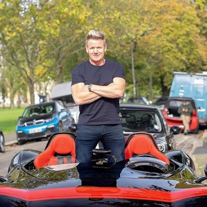 Gordon Ramsay átvette a legújabb tető nélküli Ferrariját