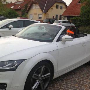 Borkai luxusautóban ülő 21 éves fiáról közölt képet Hadházy képviselő