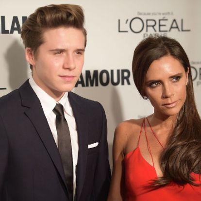 Новая девушка Бруклина Бекхэма очень похожа на его маму