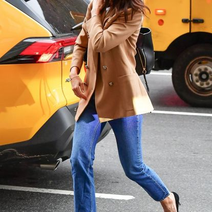 Katie Holmes wore the fall outfit trend that works for every age group 2019