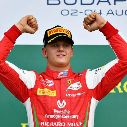 Michael Schumacher fia megkapta A kérdést