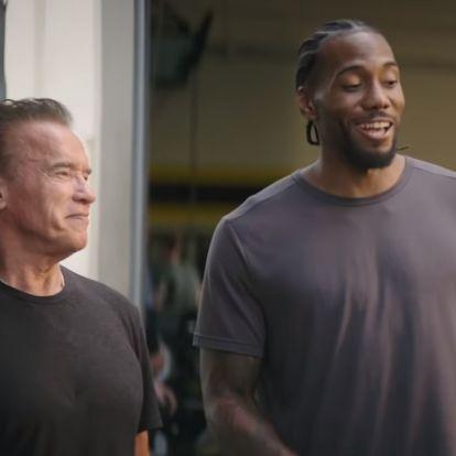 Arnie és Linda Hamilton most Kawhi Leonard nevetésén röhögcsélnek, de aztán...
