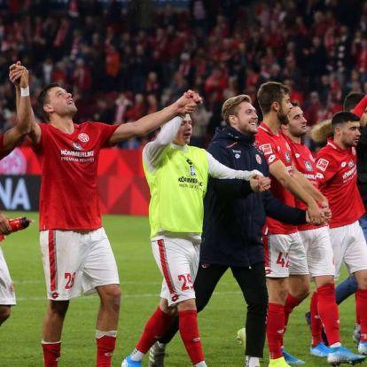 Szalaival a kezdőben győzte le a Mainz a Köln csapatát