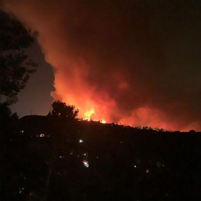 Kate Beckinsale, Arnold Schwarzenegger y otras 'celebs' evacuadas por los fuegos en California