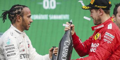 Számomra egyértelmű, ő az egyik legjobb – Vettel Hamiltonról