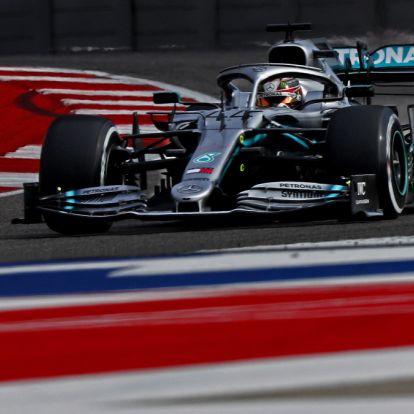 Hatodszor is Forma-1-es világbajnok Lewis Hamilton