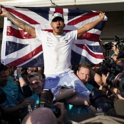 Hamilton sikret VM-tittelen med 2.-plass i USA