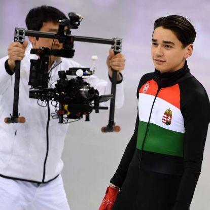 Liu Shaolin Sándor ezüstérmet nyert a rövidpályás gyorskorcsolya vk-n