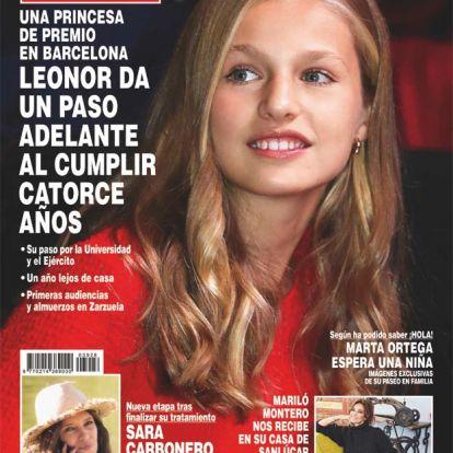 En ¡HOLA!, la princesa Leonor da un paso adelante al cumplir catorce años
