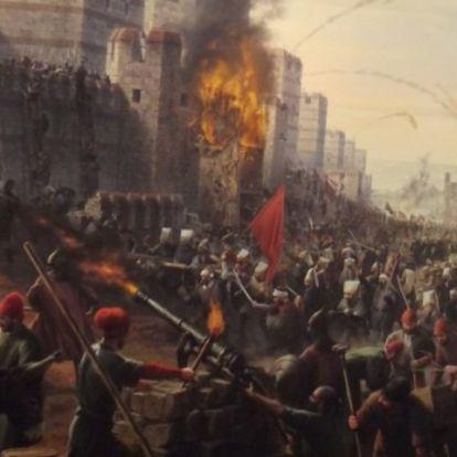 """Konstantinápoly: """"Allah torkán megakadt szálka"""""""