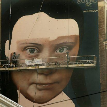 Portrett av Greta Thunberg skal pryde fasade i San Francisco