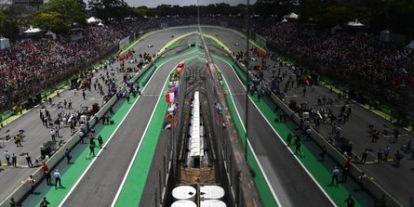 Az F1-es Brazil Nagydíj hivatalos időrendje