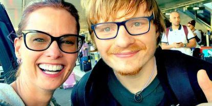 Dobó Kata egy hasonmásról hitte azt, hogy Ed Sheerannel találkozott – vagy óriásit trollkodott