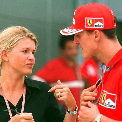 Megszólalt Schumacher felesége