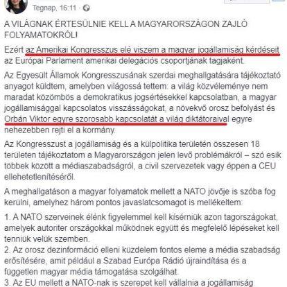 """A """"Halálbarbi"""" már a NATO-nak könyörög, hogy buktassa meg Orbánt"""