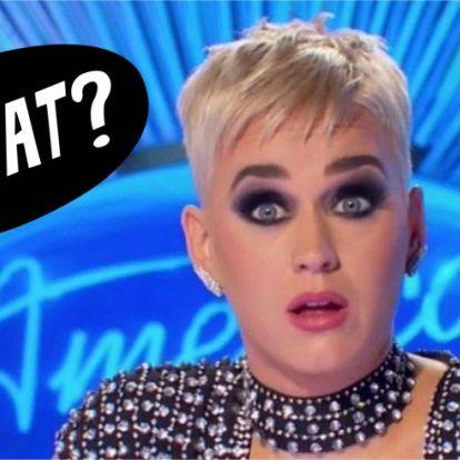 Katy Perry cipőjére nincsenek szavak