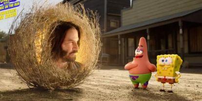 Keanu Reeves lesz SpongyaBobék mestere