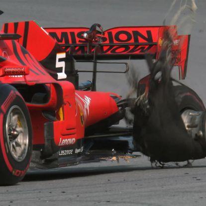 Ahogy a Ferrari kicsinálta magát, abban benne van a Vettel és Leclerc közötti egész idényes feszkó