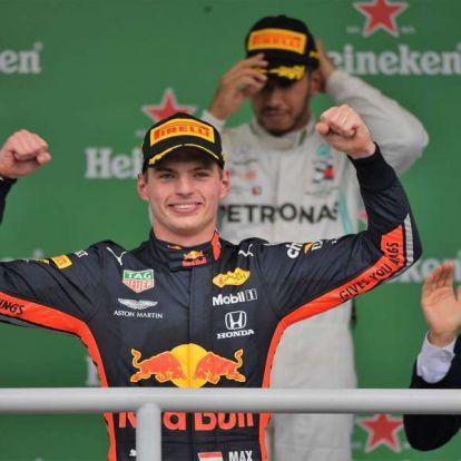 Verstappen nyert, Gasly a második a Brazil Nagydíjon