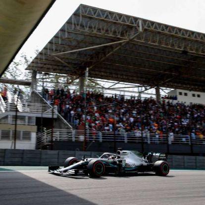 Brazil Nagydíj: megbüntették Hamiltont, Sainz a harmadik