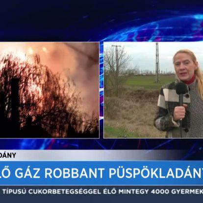 Kiömlő gáz robbant Püspökladányban