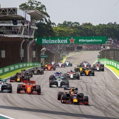 F1: Verstappen győzelemmel vigasztalódott