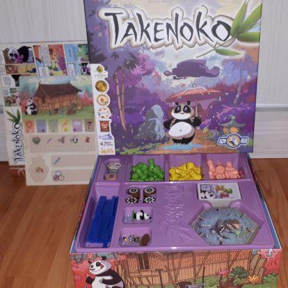 Takenoko Társasjáték Bemutató