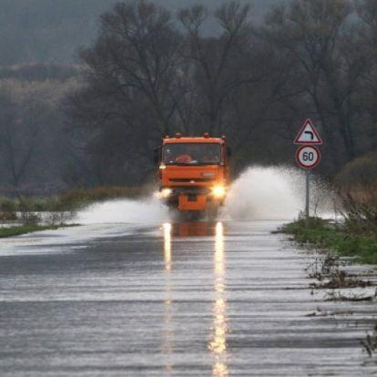 Levonulóban a borsodi árvíz