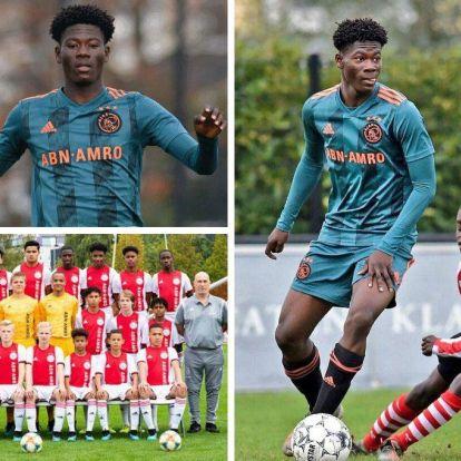 Az Ajax 14 éves védője az internet új szenzációja – galéria