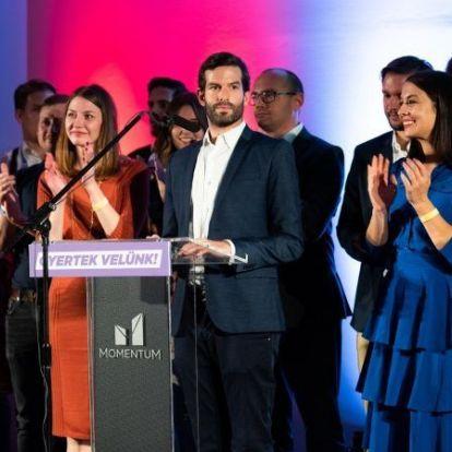 Friss felmérés: a Momentum politikusai a legnépszerűbb ellenzékiek