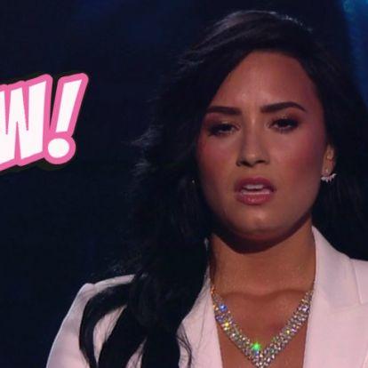 Demi Lovato terhesfotóval sokkolta a rajongókat