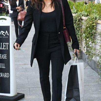 Eva Longoria copia el truco de Victoria Beckham para parecer más alta