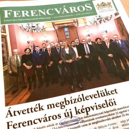 """Végre megjelent a """"független"""" Ferencváros újság: Baranyi Krisztina fotóival van tele"""