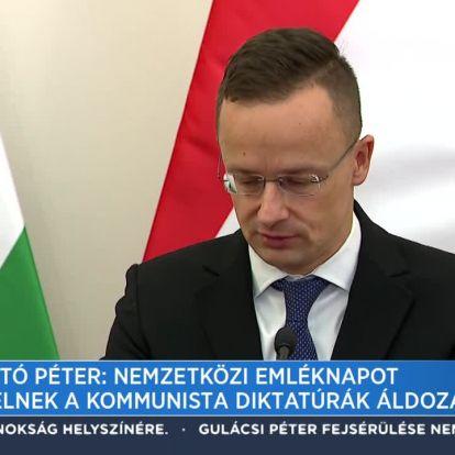 Szijjártó Péter: Nemzetközi emléknapot érdemelnek a kommunista diktatúrák áldozatai