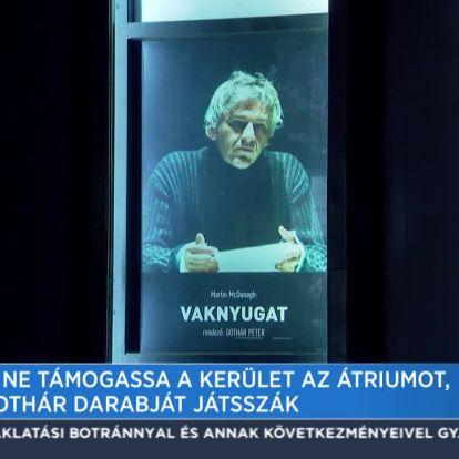 Fidesz: Ne támogassa a kerület az Átriumot, amíg Gothár darabját játsszák