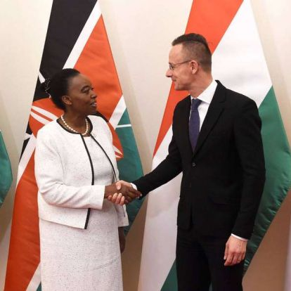Magyar cégek építenek kórházakat Kenyában