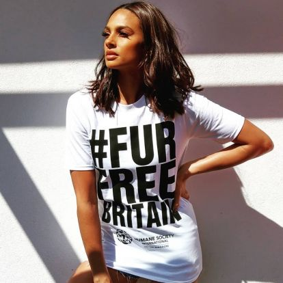 Celebrities join calls to ban the sale of animal fur in Britain