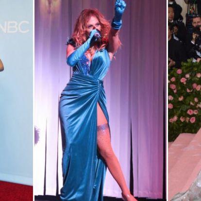 Jennifer Lopez szégyentelenül szexi ruhakölteményei | Elle magazin