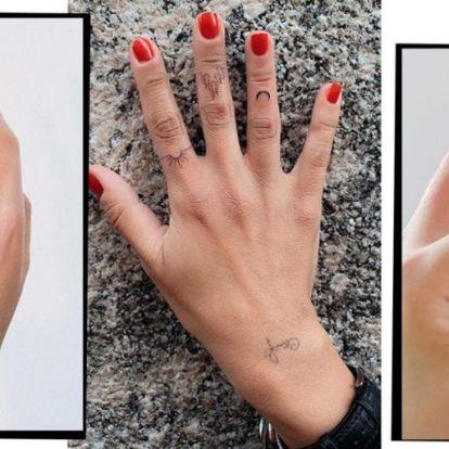 50 gyönyörű kéztetoválás híres nőkön, Rihannától Adele-ig | Elle magazin