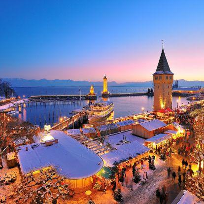 4 mesés karácsonyi vásár kastélyban, tóparton és kikötőben